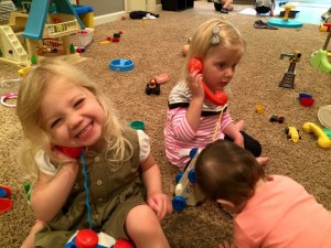 Emma got to spend a couple hours meeting her friends for next year.