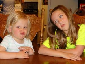 Emma and Alyssa