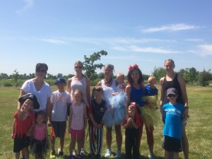 Some of the organizers of the Emma's 5K Fun Run.  Thank you guys so much.