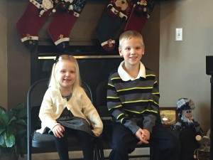 Our little Blessings! Wishing you all a wonderful 2016!