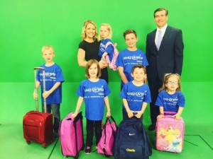 Emma and Aiden had the opportunity to be in an advertisement for Make A Wish Nebraska featured on WOWT