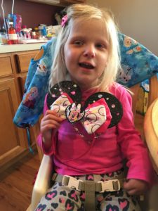 Emma is extremely excited about her Minnie 4th Birthday party on May 24th