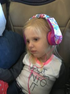 How many 4 year olds do you know that can make it 6:30 a.m to 3:00 p.m. in an airport and plane without one behavior issue.  She and her brother were awesome.